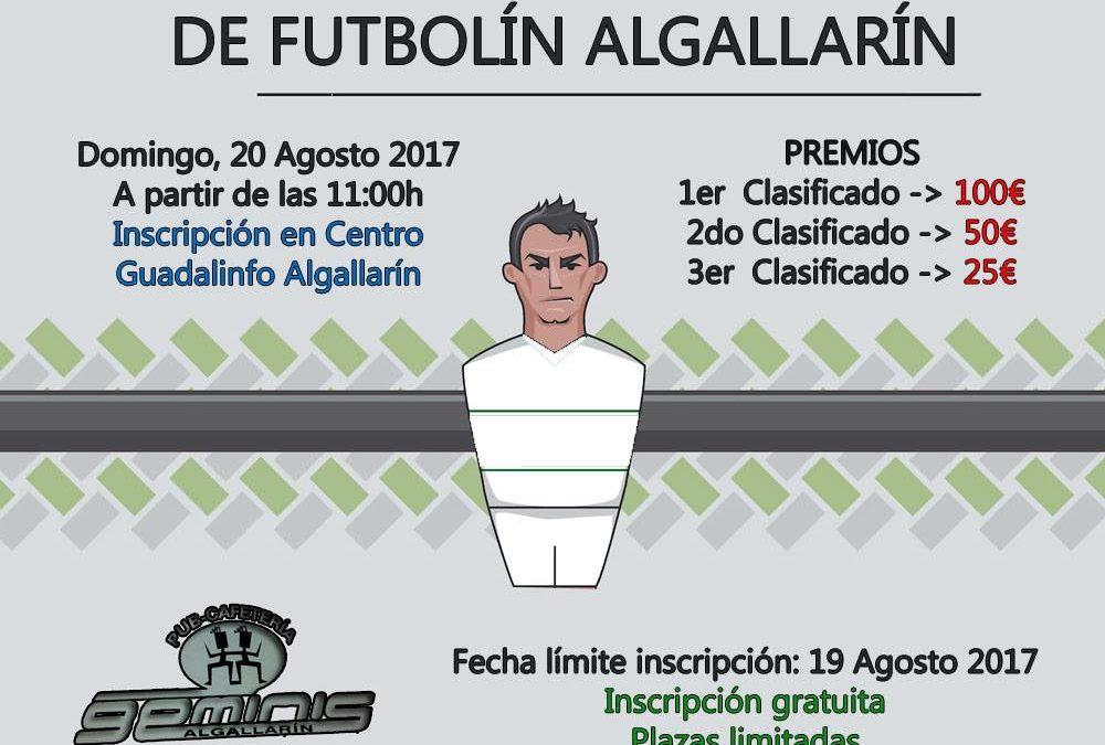 Campeonato Futbolín Algallarín