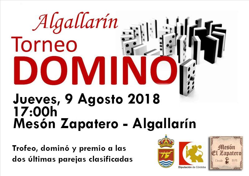 TORNEO DOMINÓ ALGALLARÍN