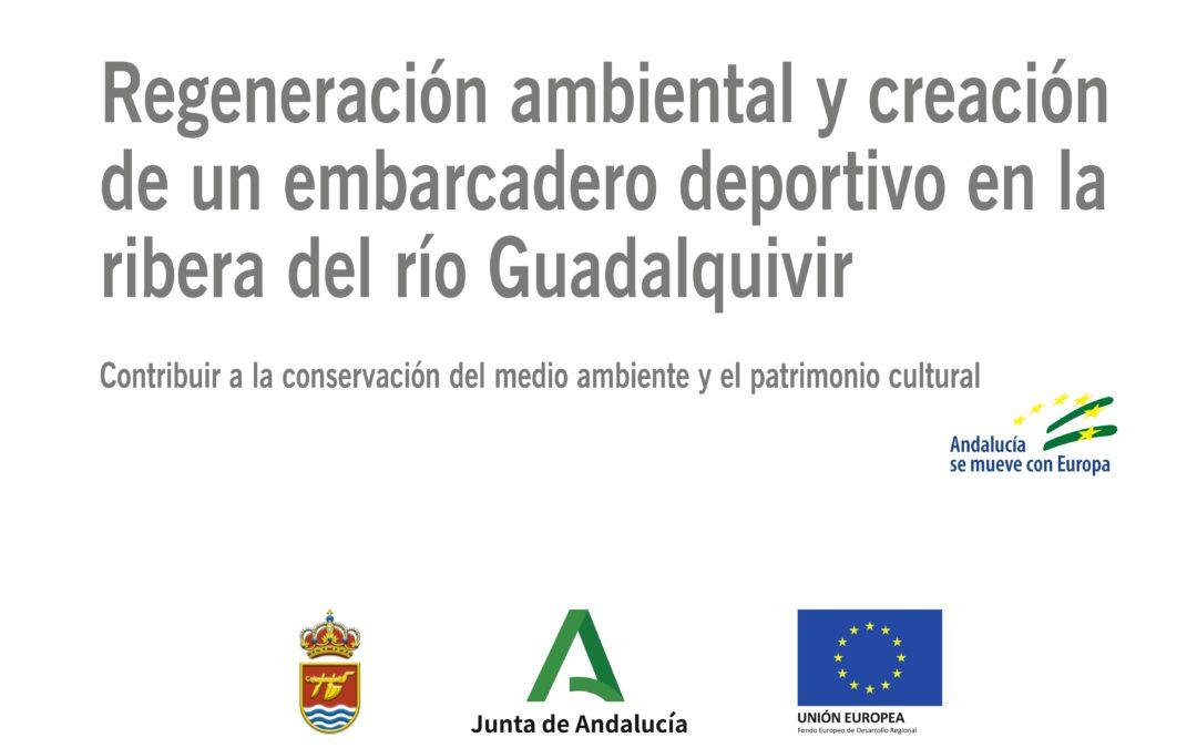 Regeneración ambiental y creación de un embarcadero deportivo en la ribera del río Guadalquivir
